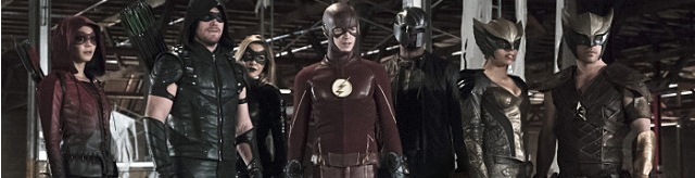 Crossover Flash Arrow Série Télé