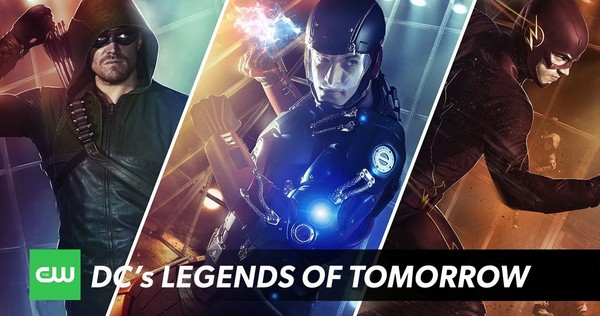 Oliver Queen & Barry Allen dans Legends of Tomorrow