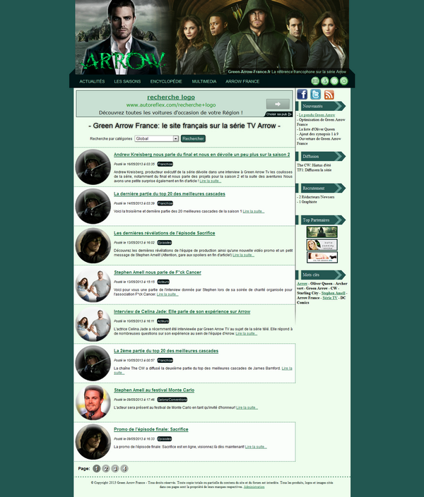 Design Green Arrow France