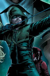 Sortie du comics Arrow #36